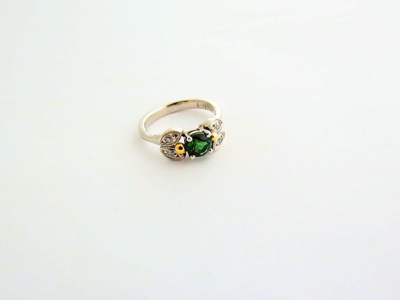 Victorian engagement ring with a modern twist